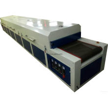 Long IR hot drying tunnel for screen printing